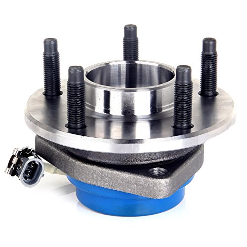 (SCITOO Wheel hub Bearing for Buick Century Cadillac Chevrolet Pontiac Saturn 1997-2013 Compatible for OE 513121 Front Rear 5 Bolts W/ABS 1 Pack)