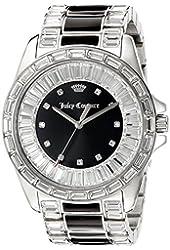 Juicy Couture Women's 1901350 Analog Display Quartz Black Watch