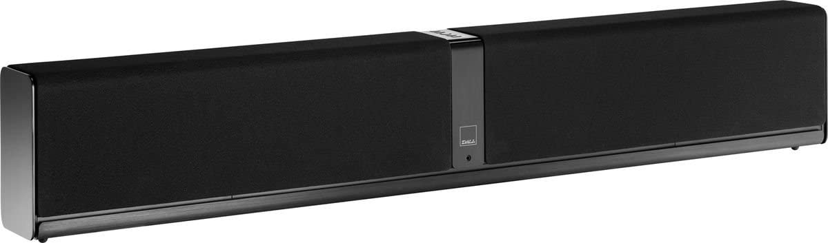 Dali Kubik One Altavoz soundbar 1000 W Negro - Barra de Sonido (Set de Altavoces, Mesa/Estante, Montar en la Pared, Cerrado, Frente, Integrado, 13,3 cm (5.25