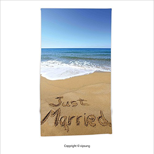 Just Married Beach Towels - 9