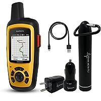 Garmin InReach SE+ Handheld Satellite Communicator with GPS Navigation 010-01735-00 and Wearable4U Ultimate Power Pack Bundle