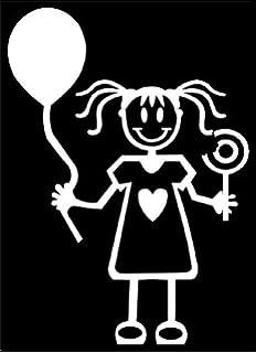 Ufficiale My Stick Figure Family vinile adesivi auto beb/è maschio BB1