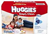 Image: Huggies Simply Clean Fragrance Free Baby Wipes Refill, 600 Count