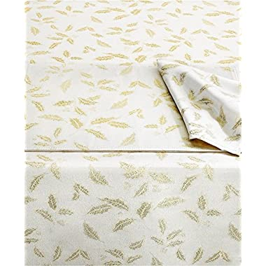 Lenox Holiday Set of 4 Holly Shimmer 20  Napkins