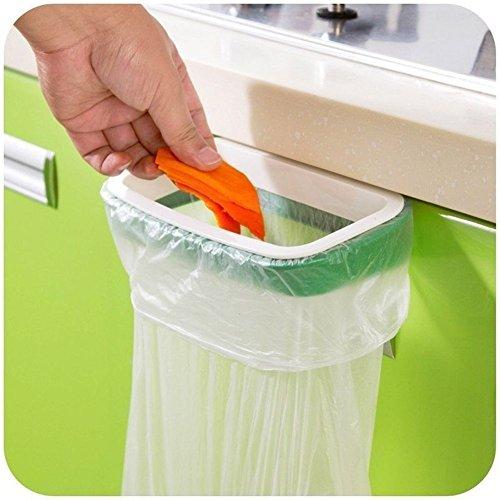 Excellent.advanced® Garbage Bag Holder Plastic Bracket Stand Rack for Kitchen Trash Storage Hanger