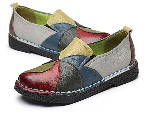 Zapatos de estilo KUKI mezclados a mano UwxqBdq