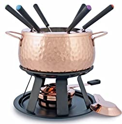 Swissmar F66915 11-Piece Biel  Meat Fondue Set, Copper
