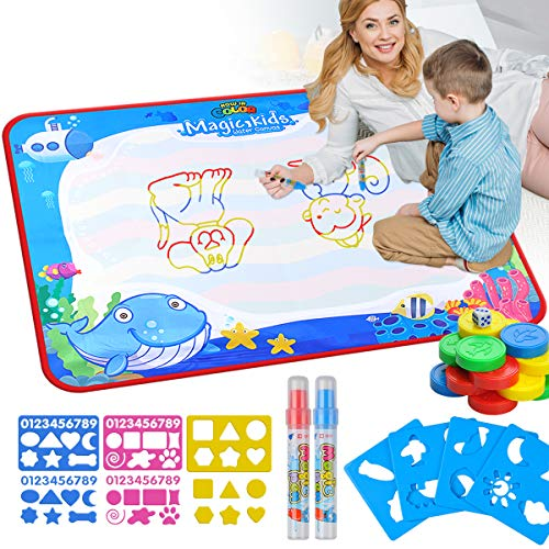 Keep your toddlers busy with the Aqua doodle mat