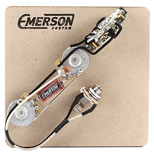 Emerson Custom 4-Way Prewired Kit for Telecaster Guitars - 250k Pots by Emerson Custom