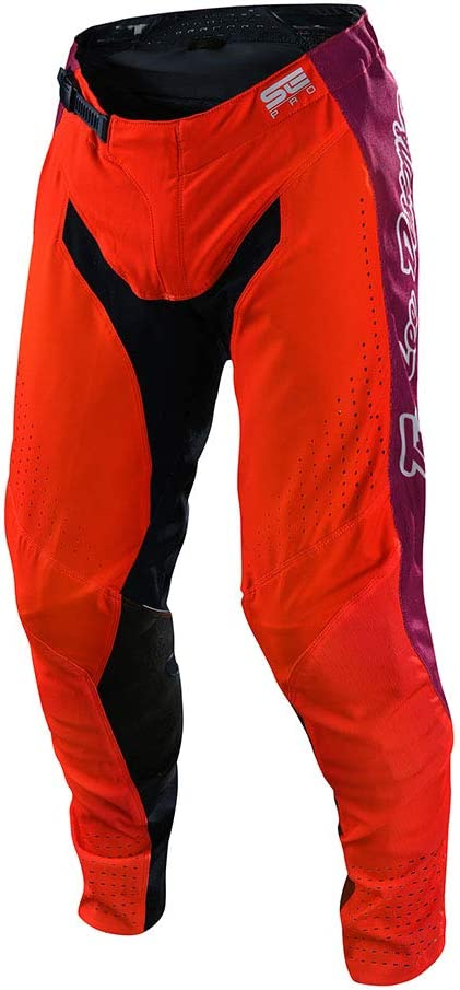 Motocross Offroad SE Pro Cosmic Jungle Pants Troy Lee Designs Limited Edition Orange//Navy, 30