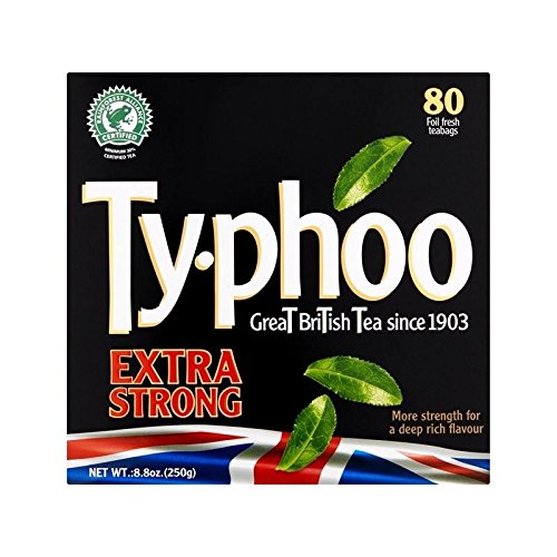 Typhoo Extra Strong Tea 80 per pack