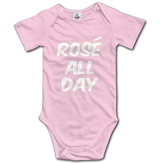 5e893fc1e Amazon.com: Rose All Day Little Baby Outfit Creeper Short Sleeves ...