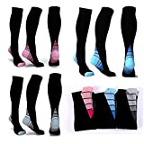 Best Compression Socks 20-30s - 3 Pairs Graduated Compression Socks 20-30mmHg for Men Review