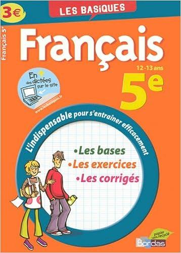 Lire en ligne Français 5e pdf, epub ebook