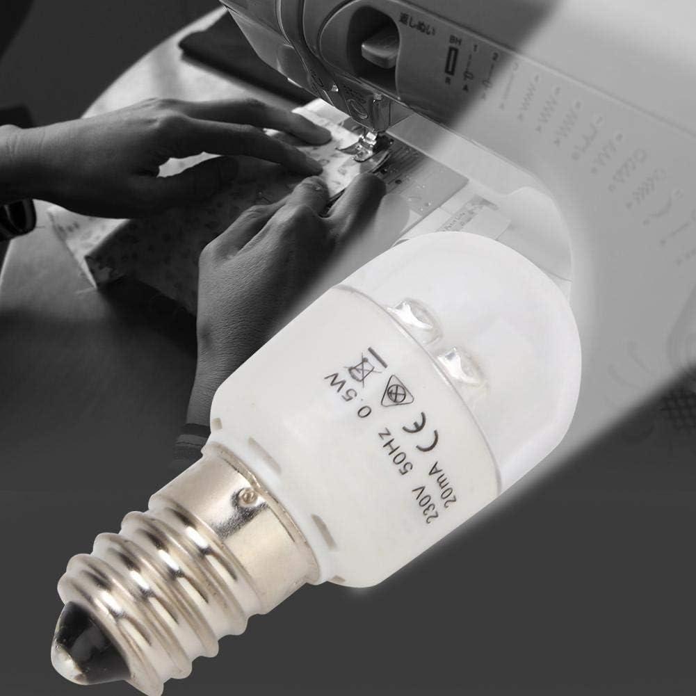 energiesparend 0,5 W f/ür N/ähmaschinen geeignet multifunktional LED-Gl/ühbirne f/ür N/ähmaschine f/ür den Haushalt