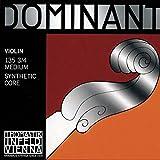 Thomastik Dominant 3/4 Violin String Set - Medium Gauge - Aluminum/Steel Ball-End E