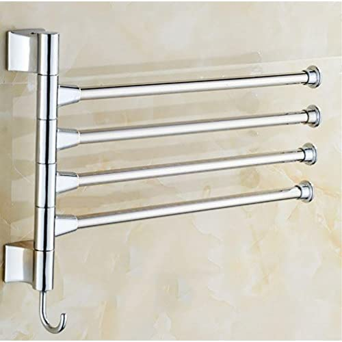 Wall Mounted Stainless Steel Swivel Active Bars Bathroom