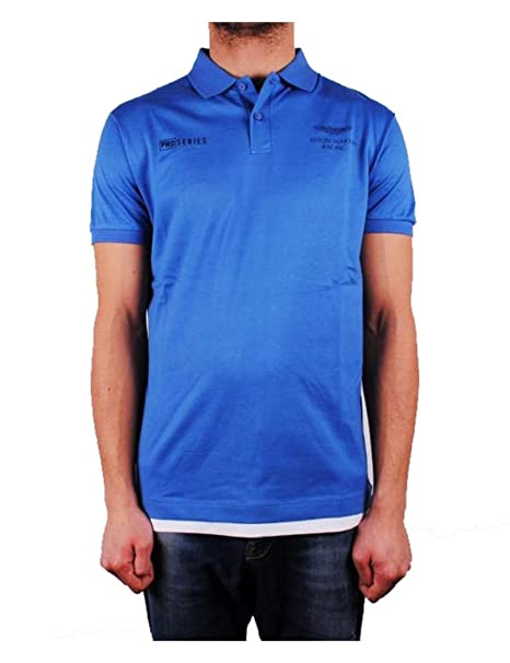 Hackett - Polo Hombre Hackett Color Azul hm562105-502: Amazon.es ...