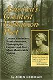 America's Greatest Unknown Poet, John Lehman, 0974172804