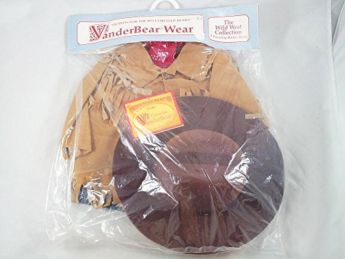 Vanderbear Wear Cornelius Outfit The Wild West A Traveling Rodeo Show Muffy Papa Father (Wild Wild West Outfit)