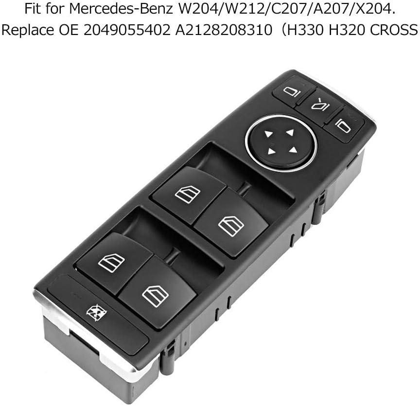 Commutateur de Vitre Electrique Commutateur de Vitre Electrique Ma/ître pour W204 2049055402 A2128208310