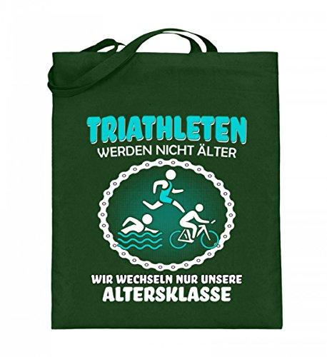 Shirtee OHTTIQAO_XT003_38cm_42cm_5739 - Bolso de tela de algodón para mujer Azul azul 38cm-42cm Verde