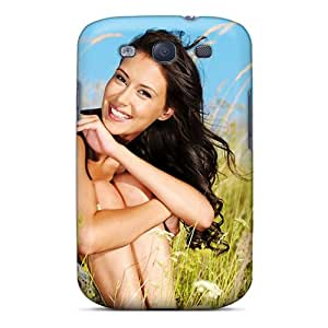 DaMMeke Galaxy S3 Well-designed Hard Case Cover Brunettes Girls Fields Outdoors Protector