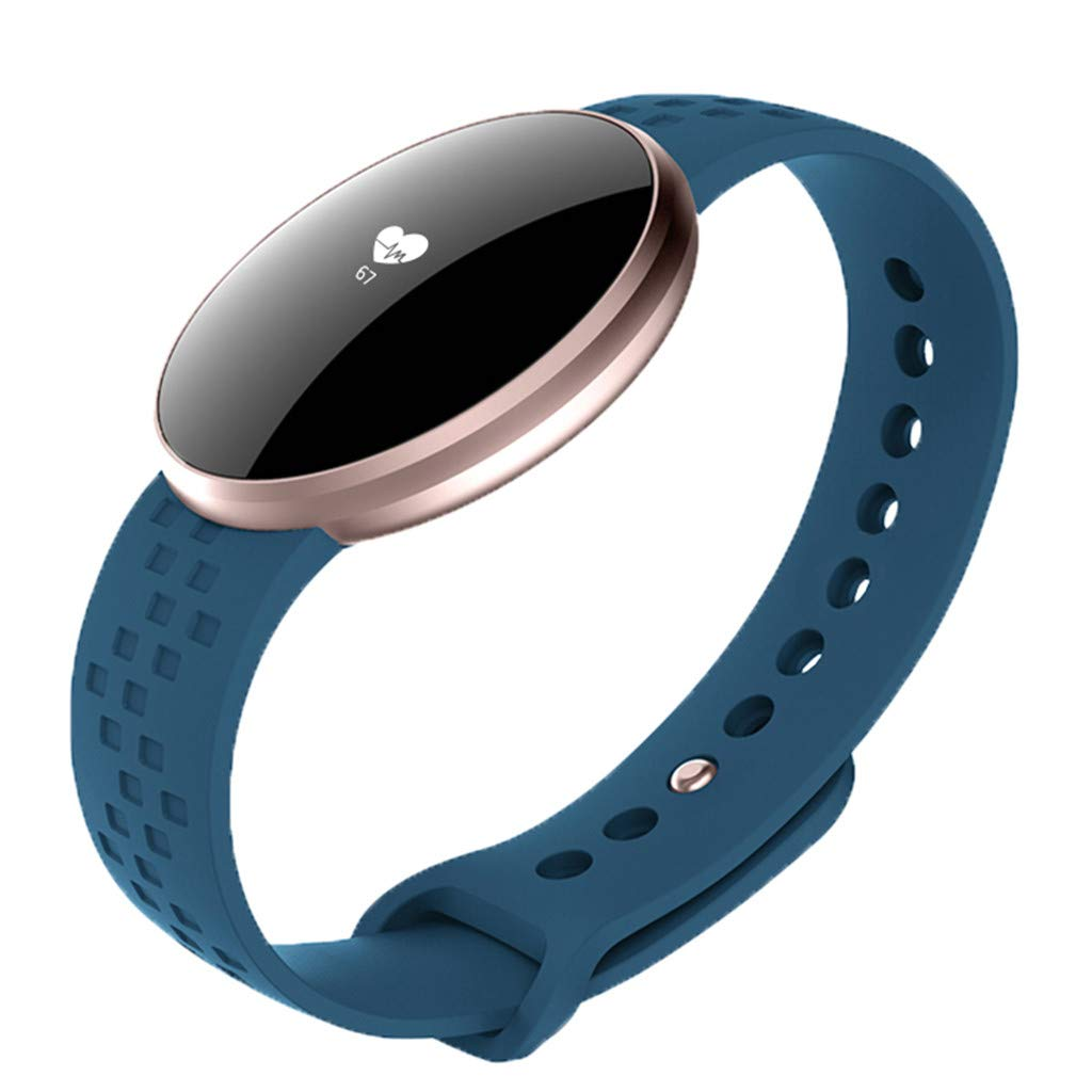 Fashion Women Bluetooth Smart Watch Heart Rate Monitor Bracelet for Android