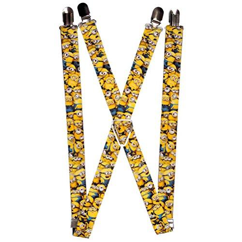 Minion Costume Suspenders (Buckle-Down Suspender -)
