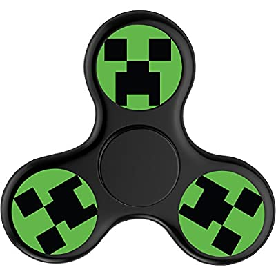 DANDAN-99 Custom MineCraft Fidget Spinner Tri-Spinner High Speed Spin - Perfect For ADD ADHD Anxiety and Autism Adult Children