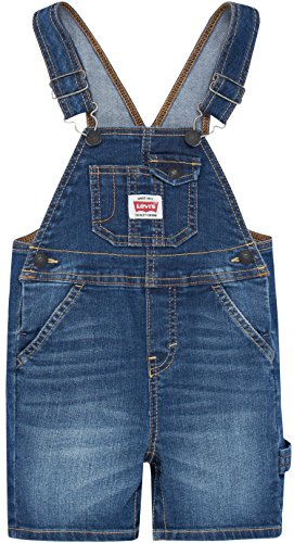 - Levi's Boys' Baby Denim Shortalls, Eastbay, 3/6M