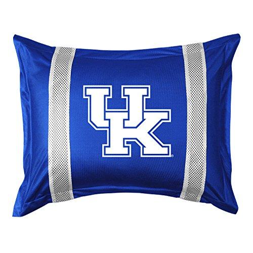 University Kentucky Jersey - University of Kentucky Pillow Sham with Jersey Mesh