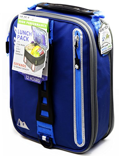 3-in-1 Cooler Box (Blue) - 2