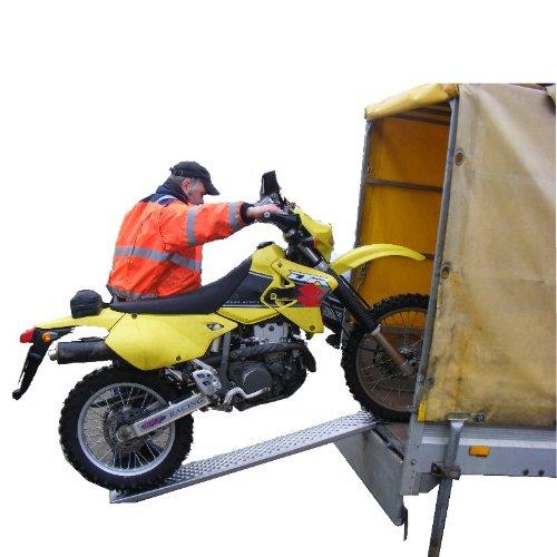 1 St/ück Alu Auffahrrampe 150 cm 200 kg Auffahrschiene Verlade Rampe Verladerampe Verladerampen Laderampe Laderampen Motorradrampe TrutzHolm/®