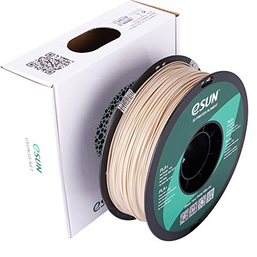 eSUN PLA PRO (PLA+) 3-d Printer Filament, Dimensional Accuracy +/- 0.03 mm, 1kg Spool, 1.75mm, Bone White (Pantone 7507C)