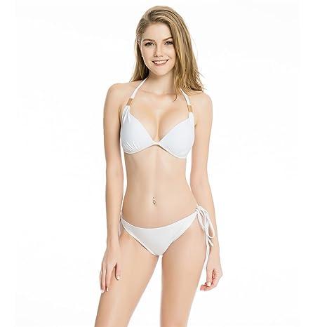 Chengxin Bikinis Bikini Blanco y Americano Bikini Sexy para ...