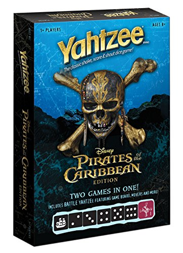 USAopoly Uso-YZ004-123-001700-06 Pirates the Caribbean Yahtzee Game, Multi by USAopoly