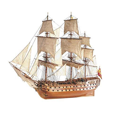 Artesania Latina, S.A. 1 90 SJ Nepomuceno Wooden Model Ship Kit, LAT22860