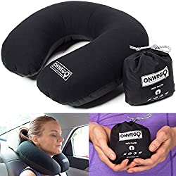 Soft-Top Inflatable Neck Pillow