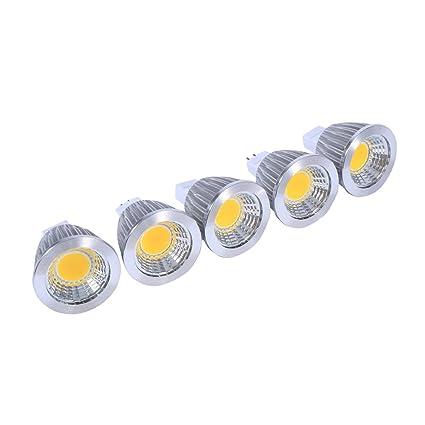 Bombillas LED COB de luz, Foco bombilla, Bombilla de inundación de 5W LED COB