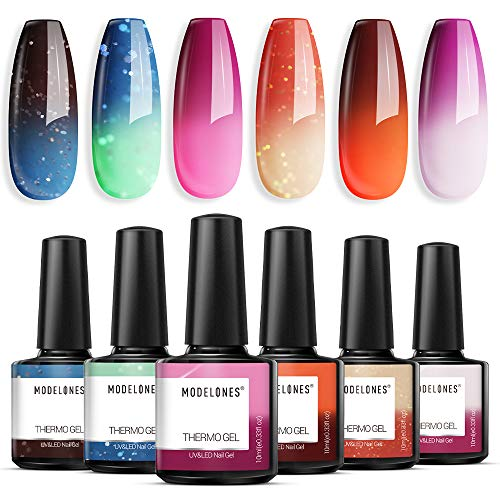 Modelones Mood Gel Nail Polish Set