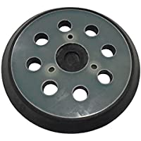 Tuuliv 5 inch Diameter 8 Hole Sander Hook and Loop Pad Replaces Makita Part Number 743081-8, 743051-7 and Hitachi Part Number 324-209