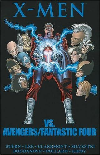 Amazon com: X-Men vs  Avengers/Fantastic Four (9780785157274): Roger