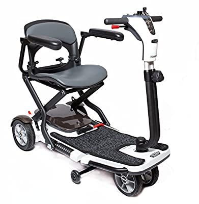 Pride GO-GO Folding Travel Compact Scooter S19 SLA Batteries + Challenger Mobility Accessories