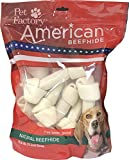 Pet Factory American Beefhide Chews 28213 Rawhide Natural Flavor 6-7″ Bones for Dogs. 10 Pack. A Great Natural Source for Protein and Assists in Dental Health. 10 Bones in a Large Resealable Package Review