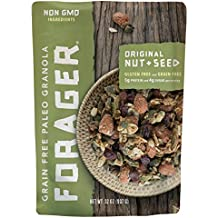 Forager Original Nut & Seed Grain Free Granola   Only 4 Grams Sugar   Only 7 Grams Carbs   Paleo   Gluten Free   Great Deal   Dietitian Formulated   5lbs.