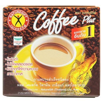 Naturegift Coffee Plus Instant Coffee Powder 13.5g x 10 Sachets