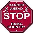 Alabama Crimson Tide Stop Sign
