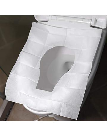 BEAYPINE Luxe Toilettes Chaud O-Type Toilettes Lunette WC Chaud Abattant de WC pour Couvercle Pad Super Chaud Universel