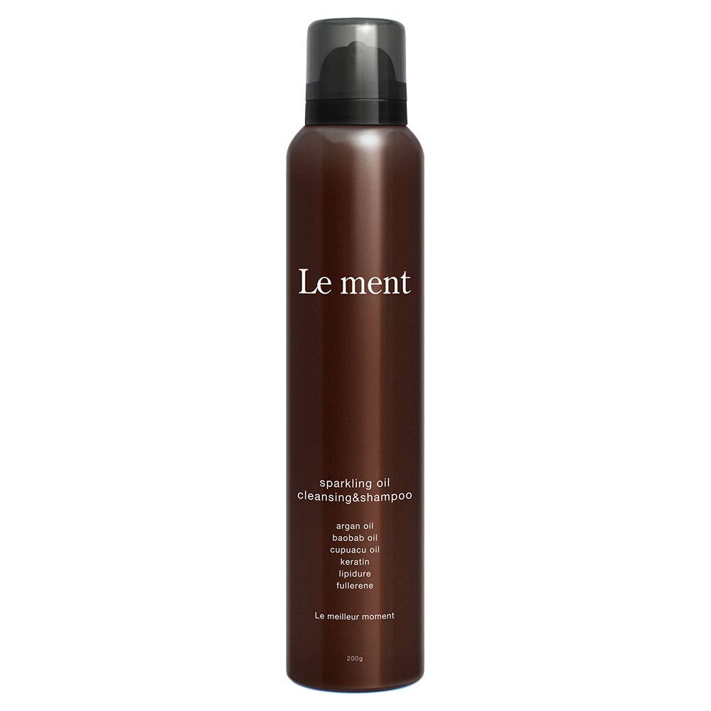 Le ment -sparkling oil cleansing & shampoo-
